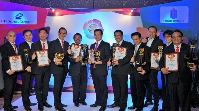Dinilai Ramah Lingkungan, Citra Towers Raih Best Green Office di Property & Bank Award 2018