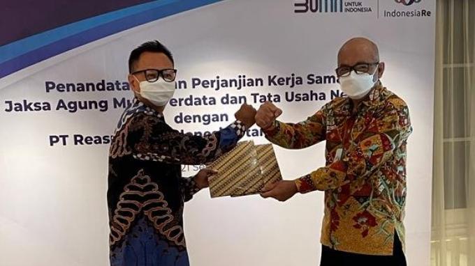 Indonesia Re Kerjasama Penanganan Hukum Perdata dengan Kejaksaan Agung