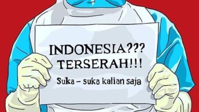Tagar Indonesia Terserah viral
