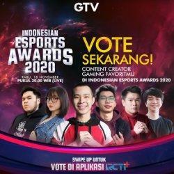 Dari Selebriti hingga Atlet Esports Profesional Bersaing di Gelaran Indonesian Esports Awards 2020