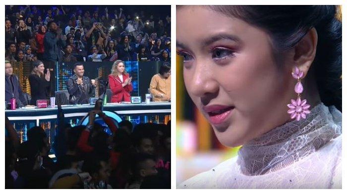 Indonesian Idol: Tiara Anugrah Raih 5 Standing Ovation dari Juri, Judika Kagum dengan Penampilannya