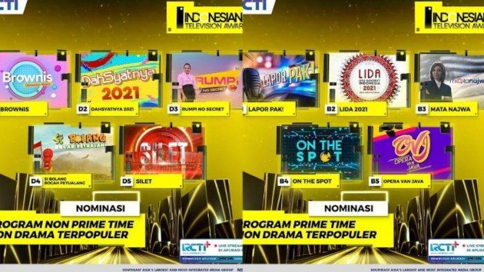 Najwa Shihab Bersaing dengan Andre Taulany, Wendi Cagur dan Ayu Ting TingdiIndonesian TV Awards