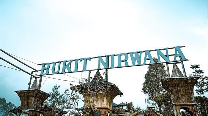 Bukit Nirwana di Desa Wisata Pujon Kidul.