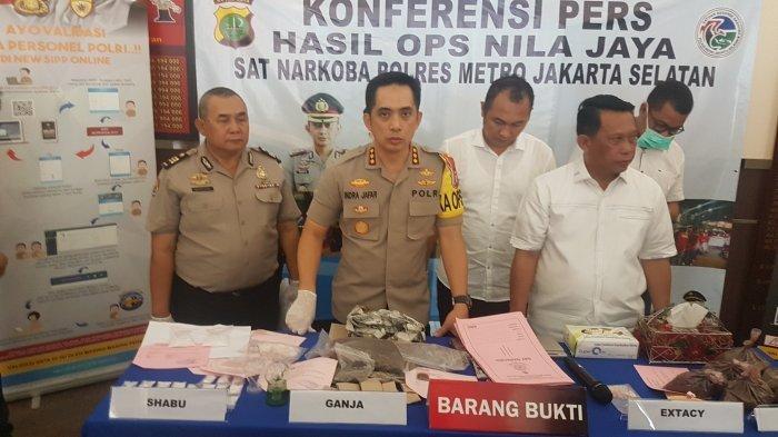 60 Orang Terjaring Operasi Narkoba Polres Metro Jakarta Selatan Selama Dua Pekan