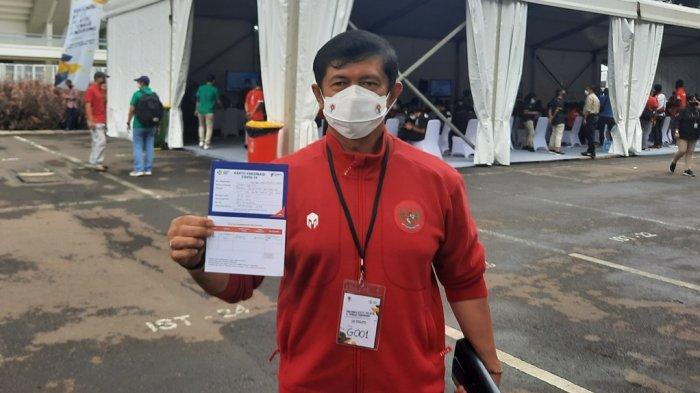 Indra Sjafri Usai Vaksinasi Covid-19: Saya Imbau Semua Harus Vaksin