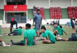Timnas U-19 Asah Penyelesaian Akhir di Internal Game