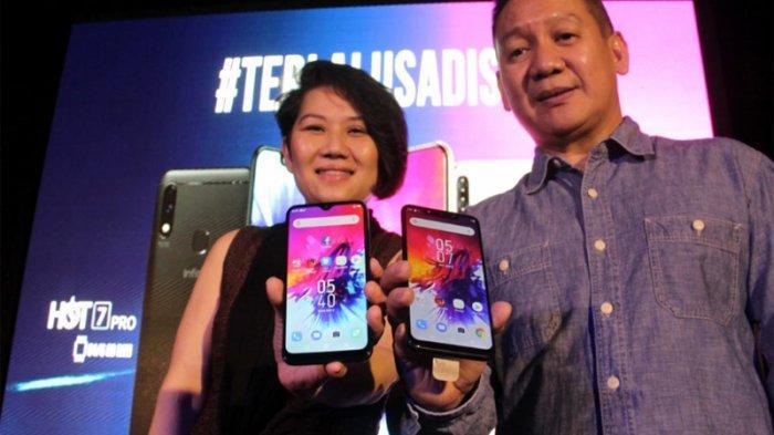 Infinix Hot 7 dan Smart 3 Plus resmi meluncur di Indonesia
