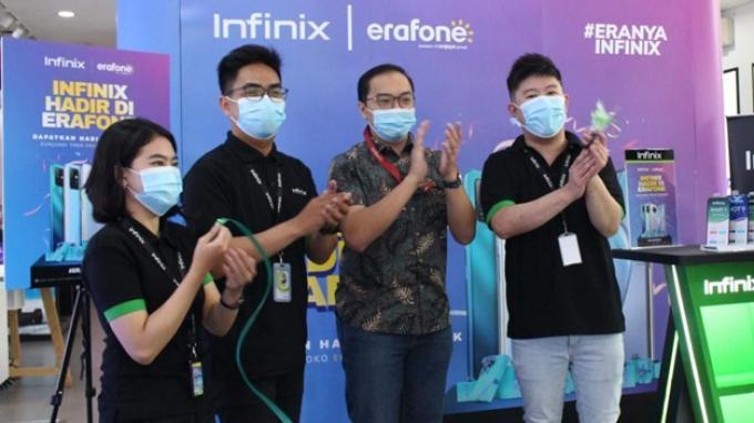 Infinix Hadirkan Deretan Smartphone Canggih Siap Jual di Gerai Erafone Seluruh Indonesia