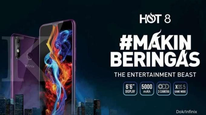 HP Infinix Hot 8.