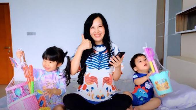 Info Parenting Banyak Diakses Pengguna YouTube, Ini yang Terbaru dari Influencer Louisse Scarlett