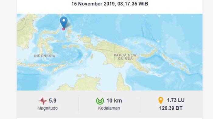 Situasi Sudah Aman, Masyarakat Masih Panik saat Gempa Susulan Terjadi di Sulut
