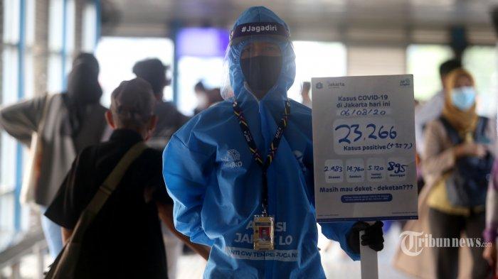 Lonjakan Covid-19 di Jakarta Belum Surut, Hari Bertambah 9.271 Kasus Baru