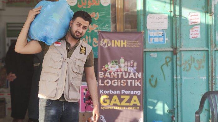 Bantuan Logistik Pangan untuk Korban Perang di Gaza Palestina