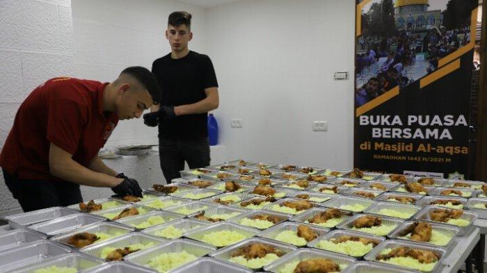 Di Tengah Tekanan dan Intervensi Otoritas Israel, INH Gelar Buka Bersama di Kompleks Masjid Al Aqsha