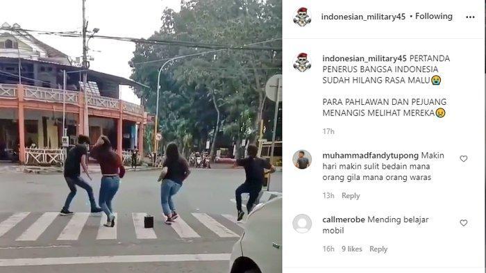 Ini Nasib 4 Remaja yang Joget TikTok di Zebra Cross Setelah Videonya Viral di Media Sosial