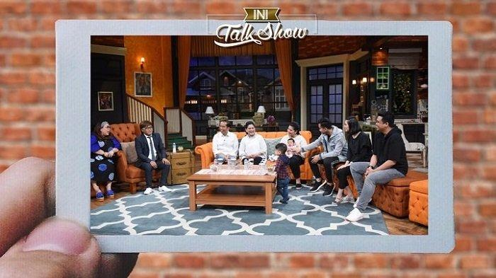 Keluarga Presiden Joko Widodo diundang dalam acara taklshow televisi pada Senin (29/1/2019) namun tanpa Kaesang.