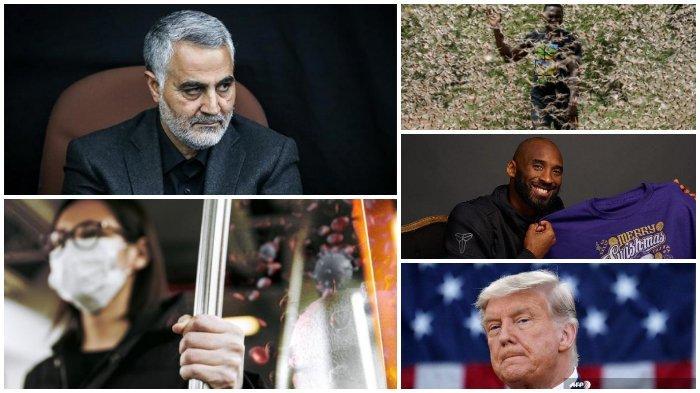 Kaleidoskop Internasional Januari 2020: Pembunuhan Jenderal Iran hingga Merebaknya Virus Corona