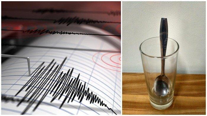 Cara Mudah Deteksi Gempa yang Terjadi Bila Sedang Tidur: Siapkan Sendok dan Gelas
