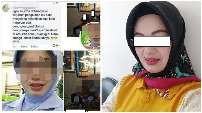 Inilah Sosok Istri TNI yang Unggah Fitnah Soal Wiranto di Media Sosial, Suami Dicopot dan Ditahan