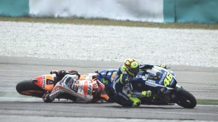 Kisruh Rossi vs Marquez Masih Berlanjut, The Baby Alien: Dia Menendang & Saya Terjatuh