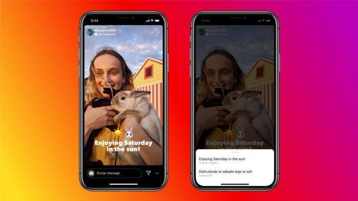 Instagram Stories Kini Bisa Terjemahkan Teks dalam Berbagai Bahasa