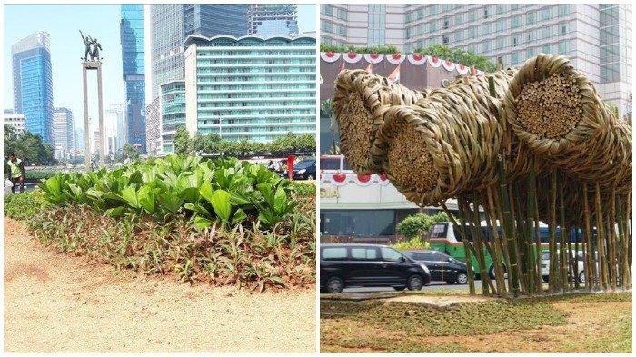 Berikut beberapa fakta terkait instalasi bambu 'Getah Getih' di Bundaran HI yang tinggal kenangan. Menelan biaya Rp 550 juta dan hanya bertahan 11 bulan.