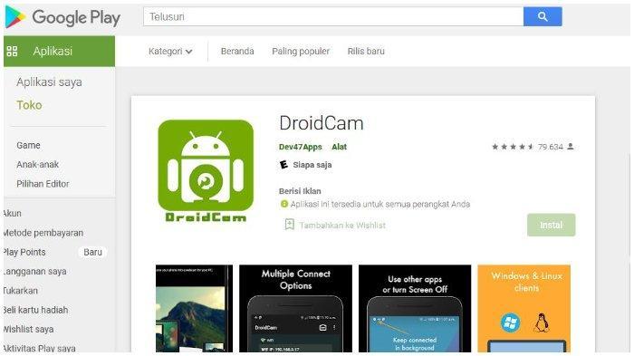 Cara Mudah Mengubah Smartphone Jadi Webcam untuk Video Call, Bisa Gunakan Aplikasi DroidCam