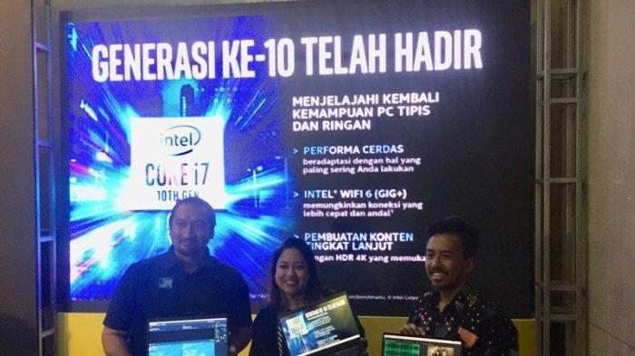 Intel Luncurkan Prosesor Core Generasi ke-10 Unggulkan Artificial Intelligence