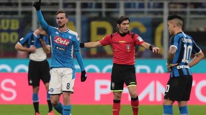 Inter Milan Napoli Dan 6 Klub Serie A Liga Italia Tolak Perubahan Protokol Medis Figc Tribunnews Com Mobile