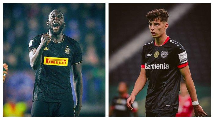 Inter Milan vs Bayer Leverkusen, panggung kehebatan Romelu Lukaku & Kai Havertz
