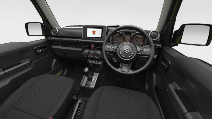 Interior & dashboard di Suzuki JIMNY