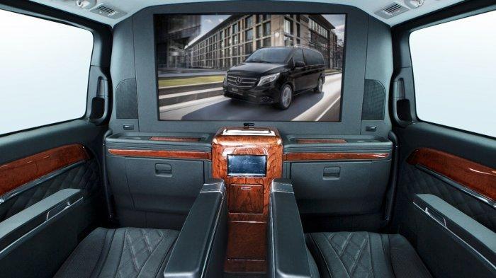 BAV Luxury Auto Sulap Interior Mercedes-Benz Vito Serasa Kabin Jet Pribadi
