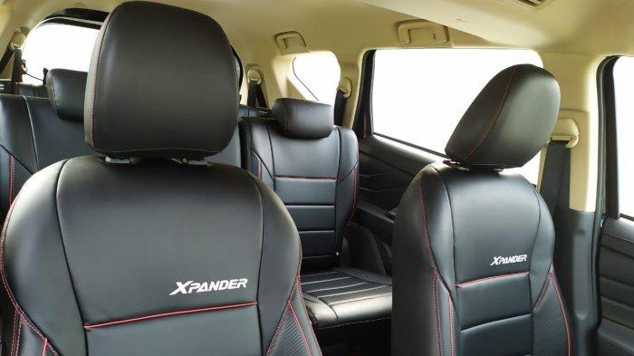 Interior Mitsubishi Xpander Black Edition.