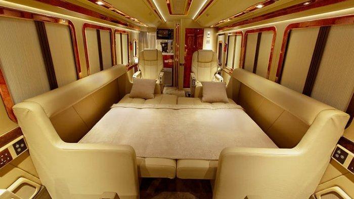 Sensasi Perjalanan Mewah Ala Sultan di Kabin Bus Mercedes-Benz OF 917 Racikan BAV Auto Design