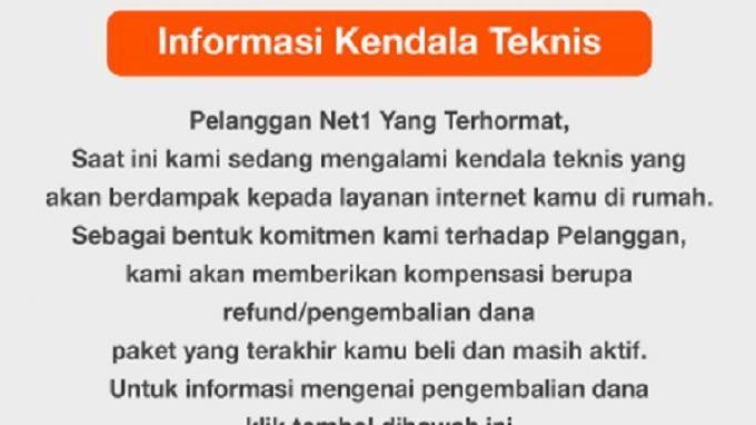 Net1 Indonesia akan Lindungi Hak Pelanggan Selama Penghentian Sementara Operasional Jaringan