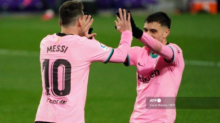 Sevilla vs Barcelona, Liga Spanyol, Keganasan Lionel Messi Ancam Los Nervionenses