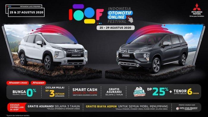 Program Menarik Mitsubishi dan Bocoran Mobil Listrik Baru Nissan di Hari Ketiga IOOF 2020 Malam Ini