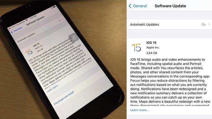 iOS 15 Tersedia di Indonesia, Ini Cara Download dan Daftar iPhone yang Kebagian