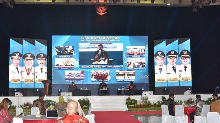 Sejumlah Kepala Daerah Beri Kuliah Umum Praja IPDN Soal Kelola Birokrasi di Tengah Pandemi