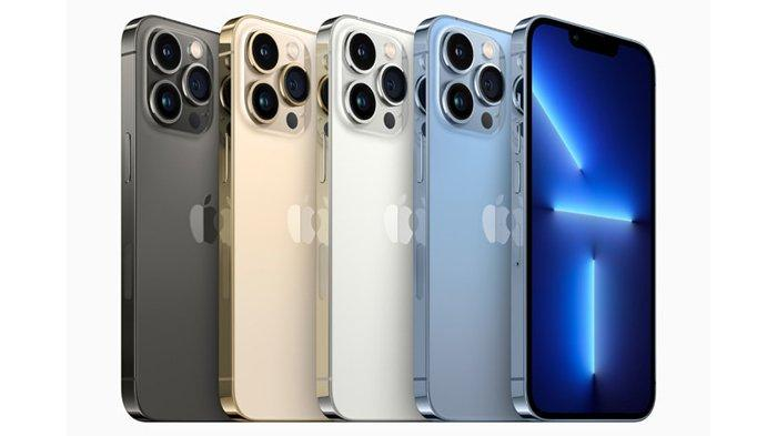 iPhone 13 Pro Max graphite, gold, silver, and sierra blue