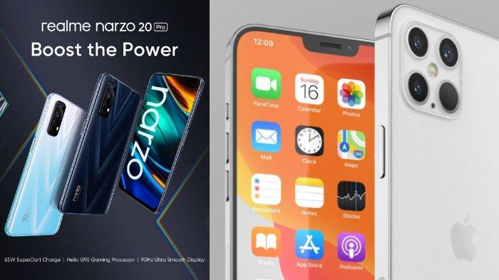 POPULER Techno: Spesifikasi Lengkap dan Harga iPhone 12 | realme Narzo 20 Pro Resmi Dirilis