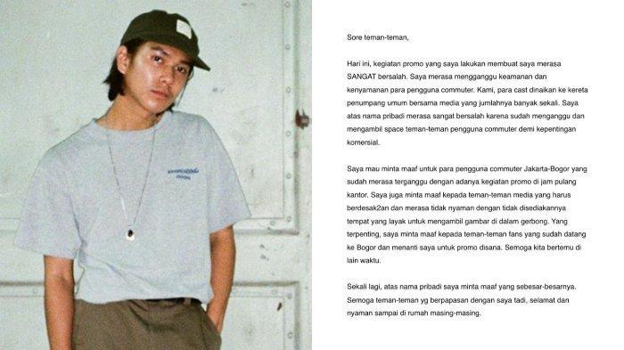 KLARIFIKASI Iqbaal Ramadhan soal Dirinya Tiba-tiba Turun dari KRL dan Tak Lanjut ke Bogor Temui Fans