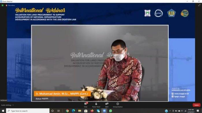 Ketua Umum MAPPI : Di Indonesia, Perlu UU Jasa Penilai