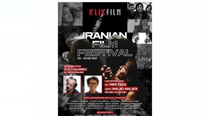 Klik Film Gelar Iranian Film Festival, Hadirkan Film Nominasi Oscar 2021 ''Sun Children''