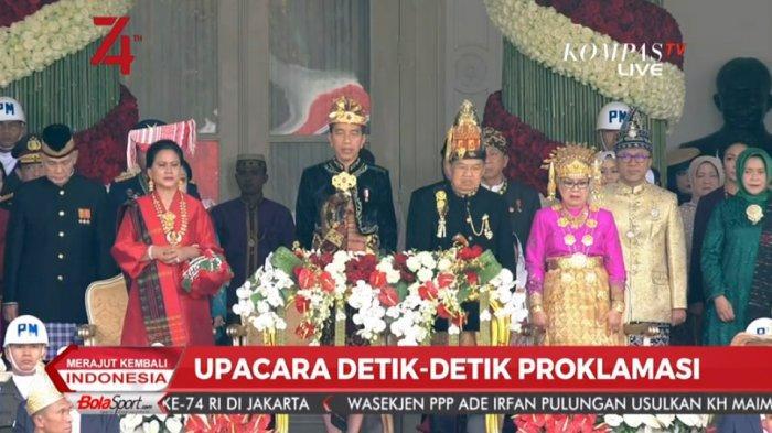 Fakta Menarik Upacara Peringatan Detik-detik Proklamasi di Istana, Jokowi Lakukan Hal Tak Biasa