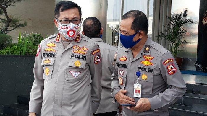 Kakorlantas Polri, Irjen Istiono di kantor Korlantas Jakarta, Senin (8/6/2020).