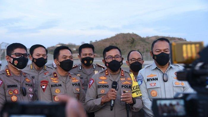 Irjen Pol Istiono meninjau Sirkuit Mandalika di Lombok