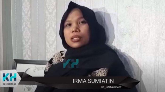 Irma Sumiatin saat dikonfirmasi oleh awak media