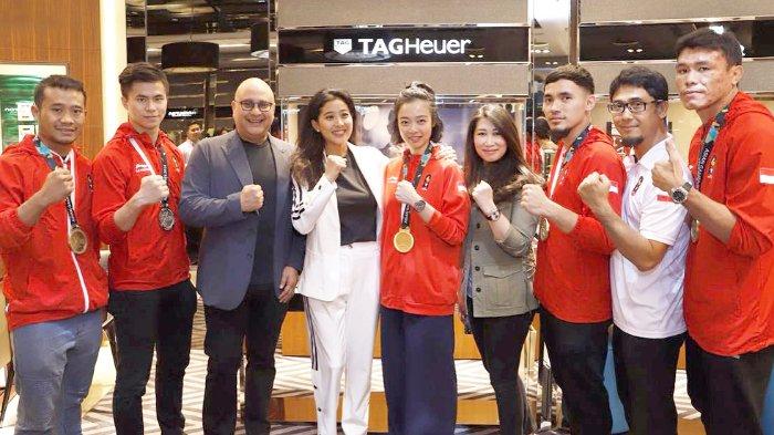 Tak Hanya Atlet Bulutangkis, Irwan Mussry Juga Manjakan Tim Wushu Indonesia dengan Hadiah Mahal