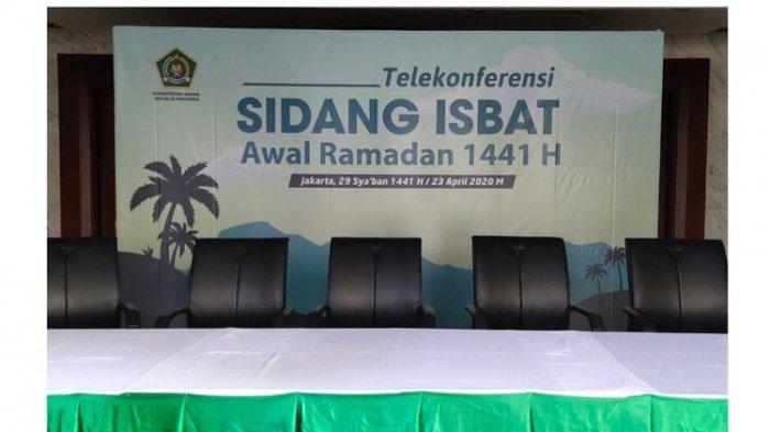 Kementerian Agama bakal menggelar sidang isbat penentuan awal Ramadan pada Kamis (23/4/2020) sore ini.